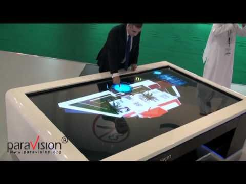 Real Multitouch, PARAVISION