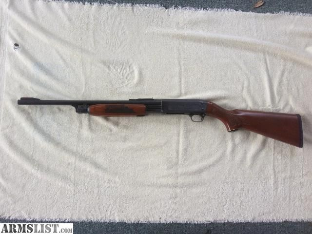 "Ithaca 37 20 gauge Deerslayer 20"" barrel with iron sights"