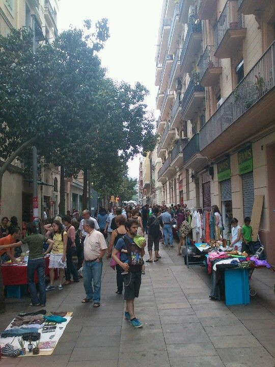 Carrer de Blai en Barcelona, Cataluña