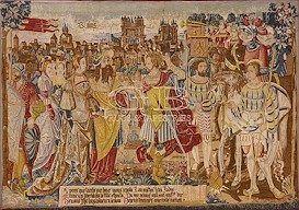 Arazzo Histoire fabuleuse des rois140 X 200 140917738495