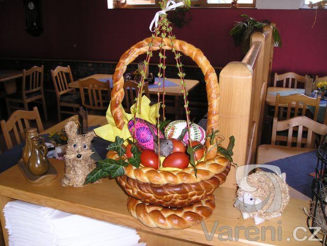 Velikonoční košík -