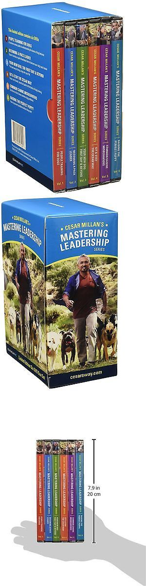 Training Videos and Books 116387: Cesar Millan Mastering Leadership Series Six Dvd Box Set For Dog Training... New -> BUY IT NOW ONLY: $148.31 on eBay!