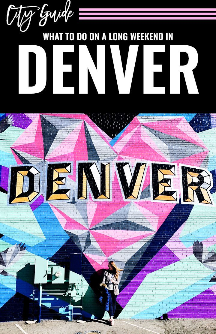 What To Do On A Weekend in Denver || Where to eat in Denver, where to drink in denver, what to see in Denver and the most colorful murals in Denver!