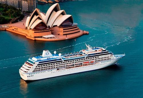 Cunard is offering 112-day world cruises in 2015. booking a three-month stay aboard a cruise ship. Or perhaps try a 180-day, round-the-world trip and then spend another half-year sailing in the opposite direction.   Just imagine visiting 90 cities in 45 countries on five continents without having to book a hotel room, make an itinerary, or worry about visas, transfers, or meals.