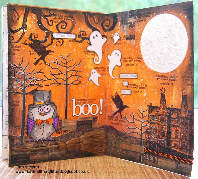 Kath's Blog......diary of the everyday life of a crafter: Halloween...