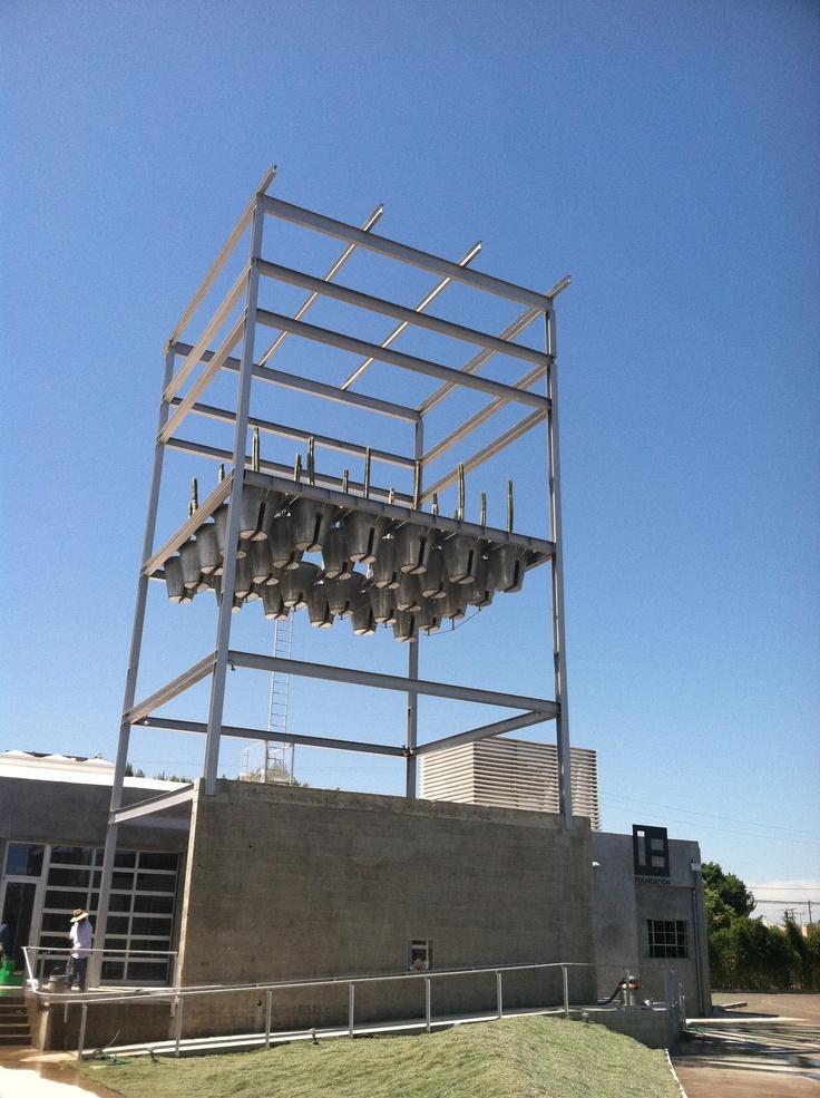 egg.carton-cactus-planter-architectural-sculpture-thing.  hayden tract, culver city, LA.