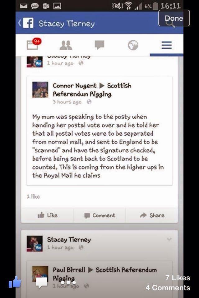 Postal Votes Go To England! #udiNOW