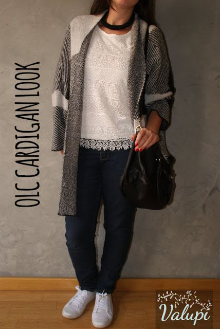Valupi - Handmade with love: Outfit low cost: Cardigan look