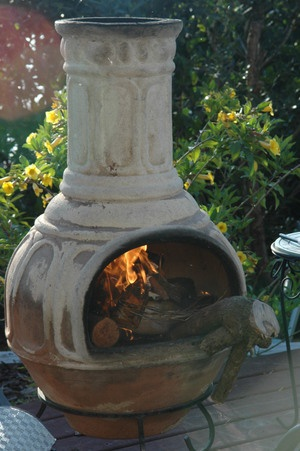 99 best Fire Pits..Chimineas..LOVE THEM images on ... on Backyard Chiminea Ideas id=59347