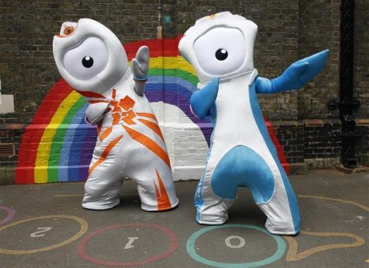 London 2012 Olympic mascots. Anything fun about these? What am I missing?