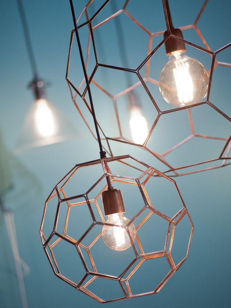 Hanglamp Marrakesh - L - Koper - Draadijzer - It's About RoMi