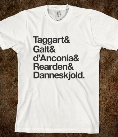 Who is John Galt? - need this shirt