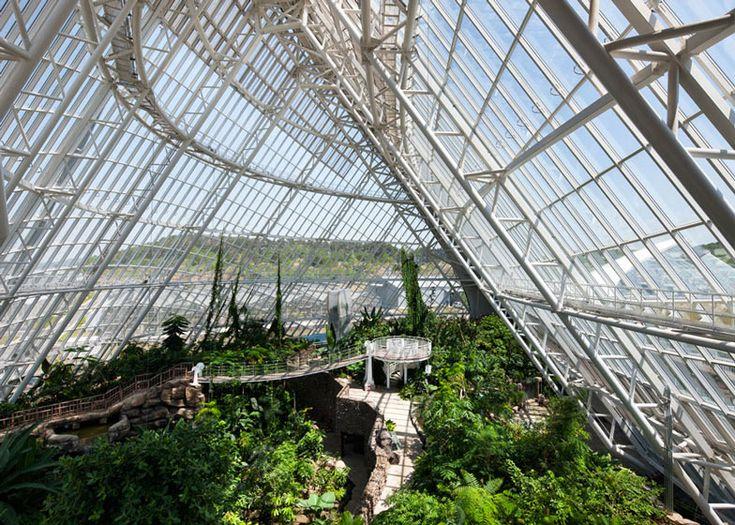 national ecology centre botanic greenhouses - secheon - grimshaw + samoo - 2013