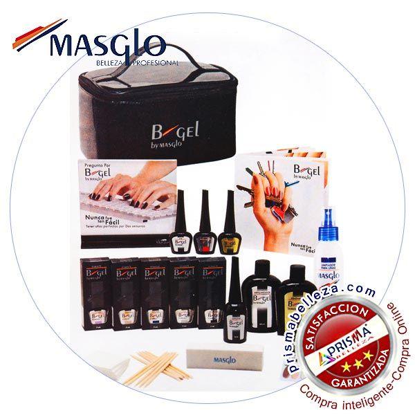 De:#MASGLO Presentaciones: KIT  Ultima tendencia en #maquillaje profesional semi-permanente de #uñas. #nails