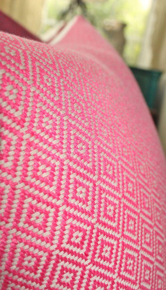 Schumacher  Pink Pillow Cover  Designer Pink by MotifPillows, $57.00 Guest Bedroom Twin Beds