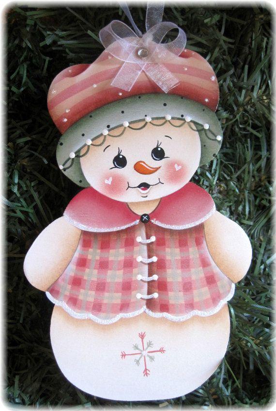 Rosado y adornos de jengibre-patrón de la por GingerbreadCuties                                                                                                                                                                                 Más