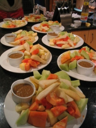 Rujak (Indonesian Spicy Fruit Salad)