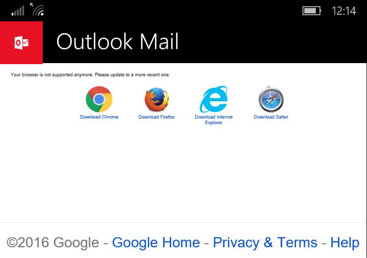 Google Not Blocking Accounts on Outlook for Windows 10 Mobile: After it seemed like Google had cut support for accounts through Outlook on…