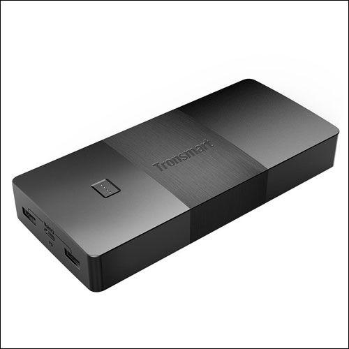 Tronsmart Brio USB C Power Bank 20100mAh for Galaxy S9 and S9 Plus