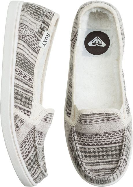 ROXY LIDO WOOL II SHOE > Womens > New Arrivals | Swell.comROXY LIDO WOOL II SHOE  $44.00 Enjoy 20% Off! Enter Code: STACHEATTACK at checkout.    Be the first to Write a Review See Size Information  SIZES: 6 6.5 7 7.5 8 8.5 9 10 Quantity Tell a Friend      Soft wool shoe.     Cozy faux fur upper and lining.     Soft padded insole.     Rubber outsole.     Woven Roxy logo flag.     Vendor style #: ARJS600093.