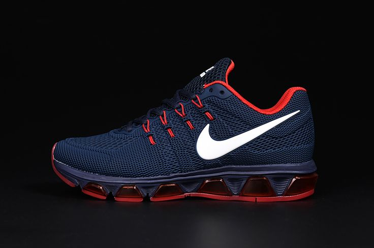 NIKE AIR MAX TAILWIND 8 Men Running Shoes Dark Blue Red
