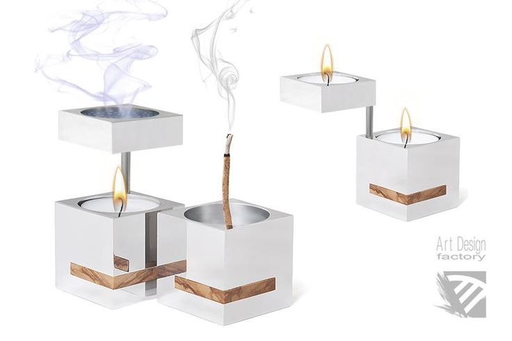 Art Design Factory - Product - Dreams Of Life | Aromatherapy Burner, Incense-candle holder