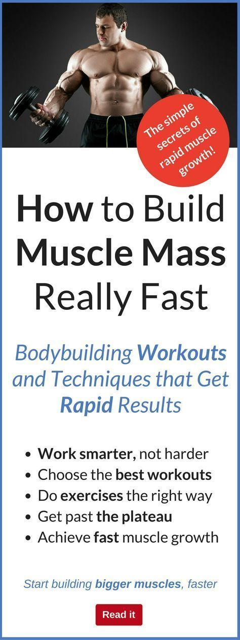 how to build muscle mass fast in arms