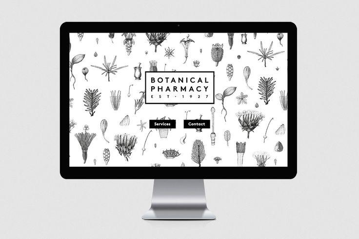Botanical pharmacy wildhen design business design