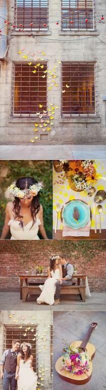 mariposas amarillas-boda primavera
