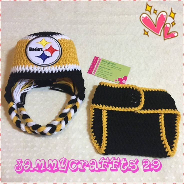 Baby Showers Pittsburgh ~ Baby pittsburgh steelers diaper cover set football