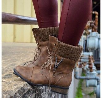 shoes brown leather boots brown combat boots soft grunge hipster cool shoes winter boots cute pants