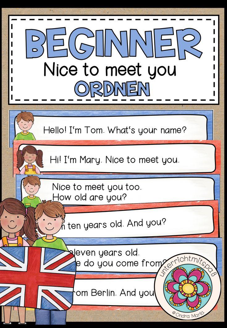 Zum kennenlernen englisch