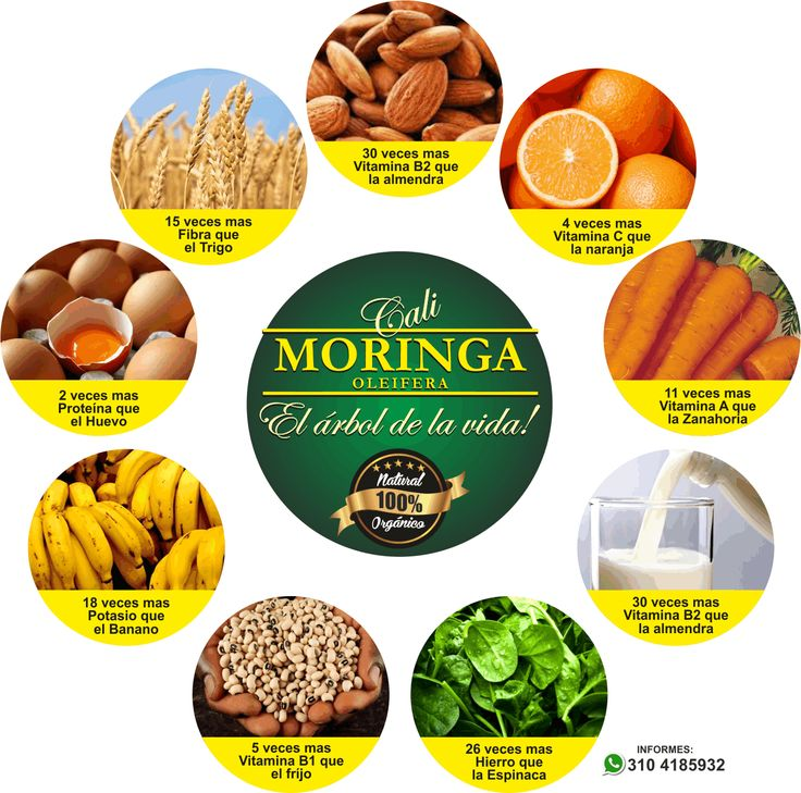 Beneficios para la salud de Moringa