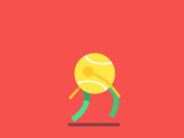 Tennis Ball Animated Clipart Tennis Ball Tennis