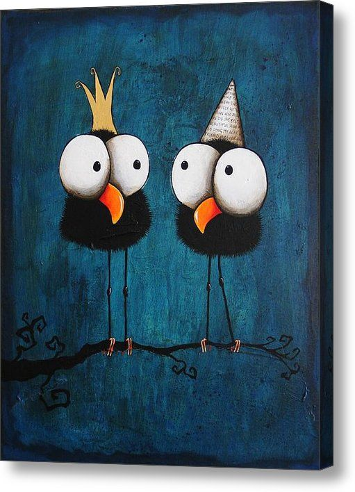 Kings For A Day Acrylic Print By Lucia Stewart