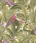 Tapeta ścienna w papugi Botanical BA2202 Grandeco
