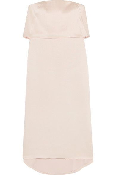 Halston Heritage - Layered Satin Dress - Blush - US10