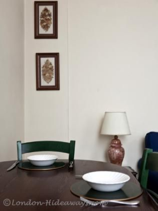 Beautiful furnished Dining Table