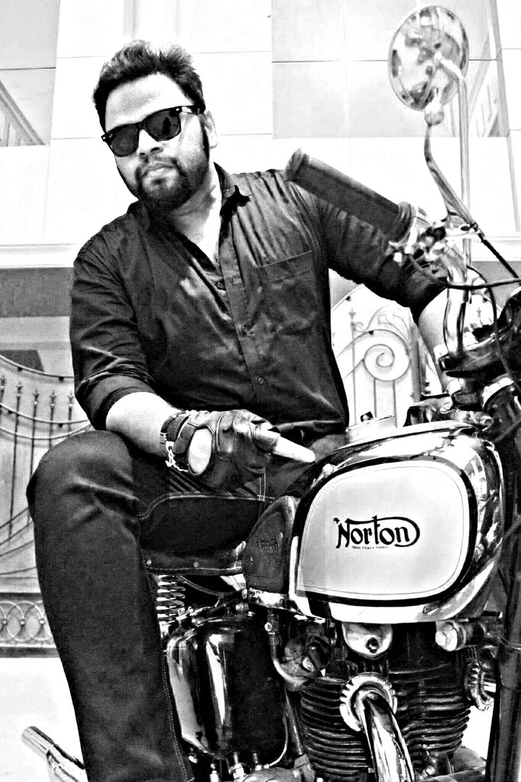 Danish Khan Norton Dominator Motorcycle. Proud Owner of 1951 Norton Dominator  APX 5001  HYDERABAD