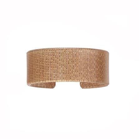 """1"""" Woven Copper Cuff"""