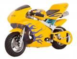 Mini Moto Bull Kids BK-R6S 49cc Motor 2-Tempos - Velocidade Máxima 35 km/h - Bull Motors