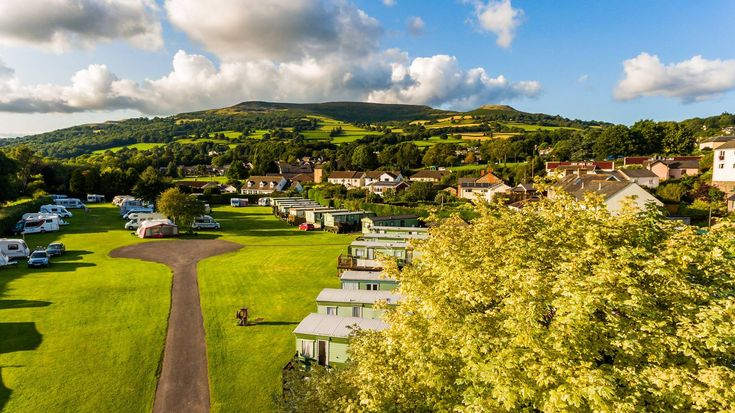 Riverside Caravan & Camping Park, Crickhowell, Powys. Wales. Campsite. Caravanning. Holiday. UK. Staycation. Adults Only. Brecon Beacons.