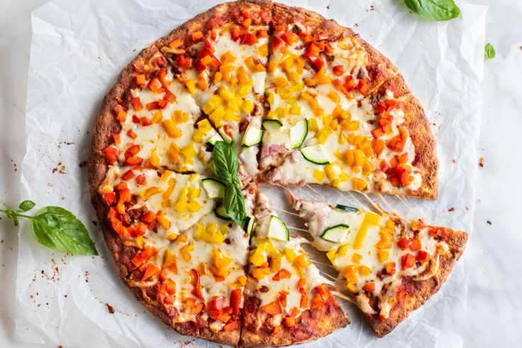 A mindful pizza crust that has a very similar flavor and