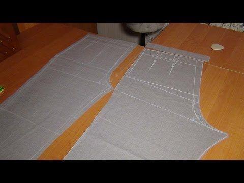 Как кроить брюки сразу на ткани: ЗП - YouTube