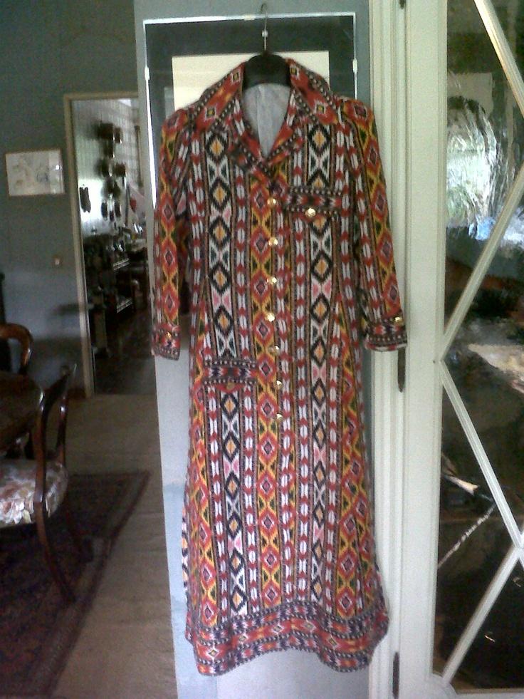 Roberta di Camerino robe manteau (not available)