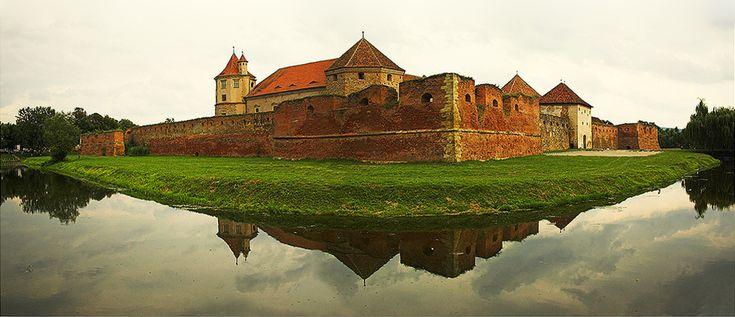 Fagaras Citadel - Transilvani, ROMANIA.