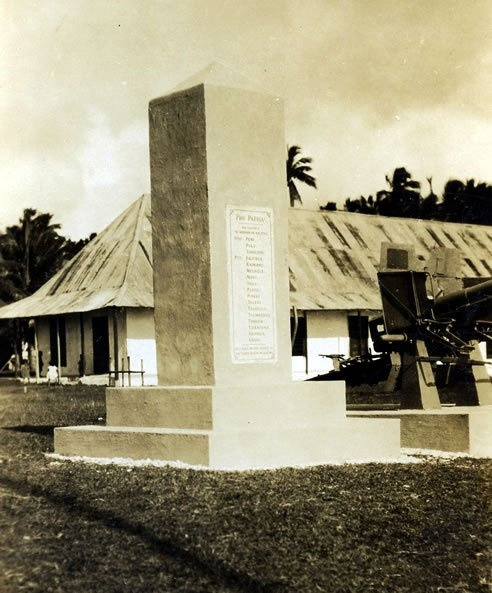 """makatumau"" in commemoration of the Niue warriors that was drafted in the 2nd world war...."