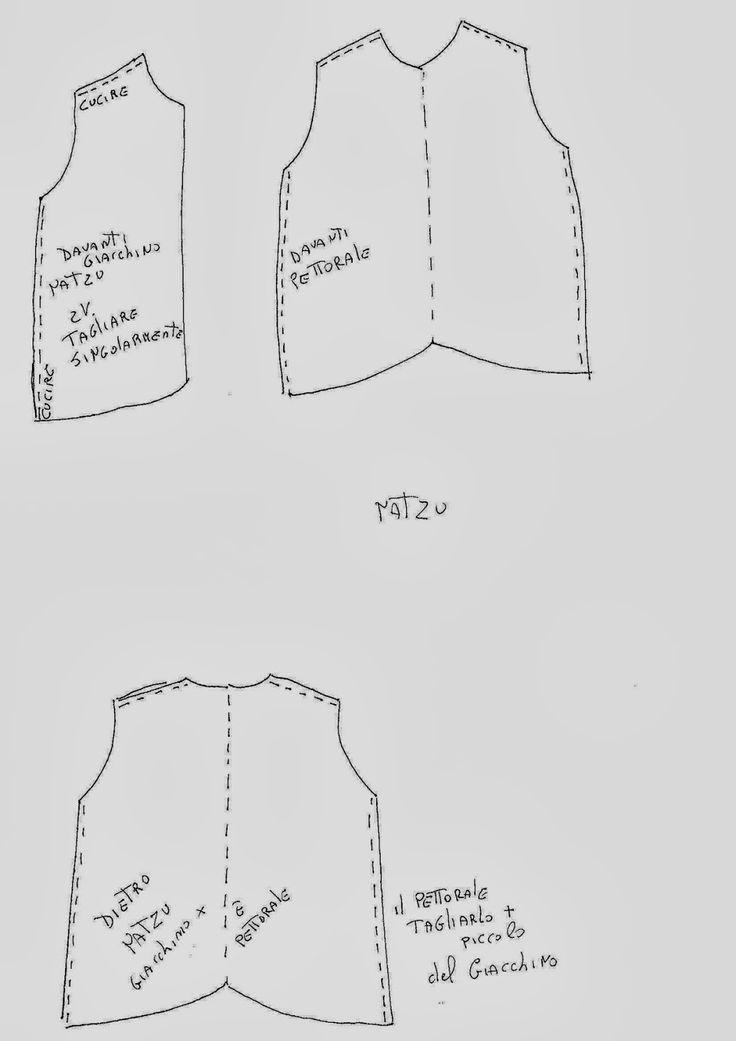 kurtka wzór