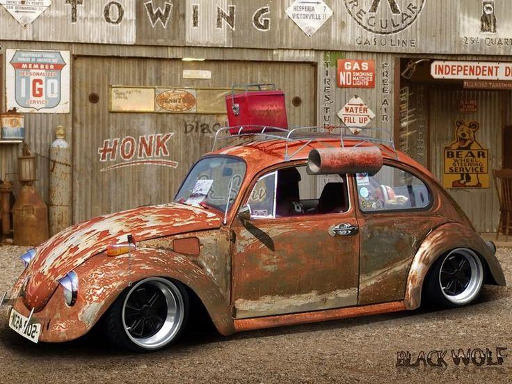 volkswagen beetle rat rod - Google Search