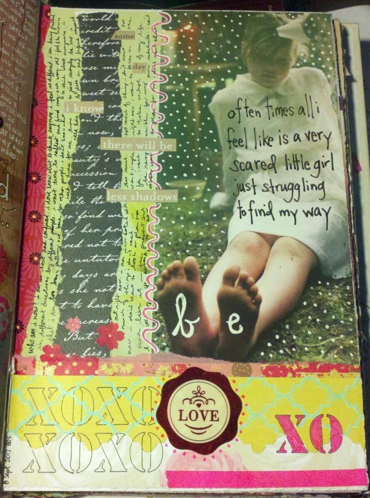 Kelly Kilmer Artist and Instructor: 8 September 2012 Journal Page